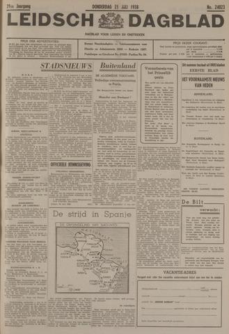 Leidsch Dagblad 1938-07-21