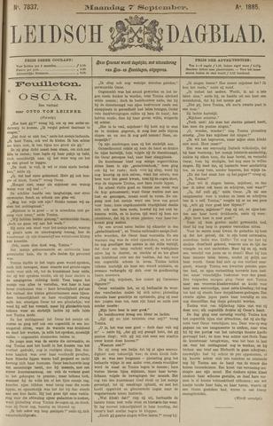 Leidsch Dagblad 1885-09-07