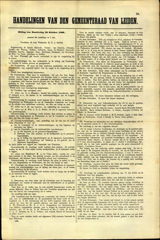 Handelingen van de Raad 1869-10-28