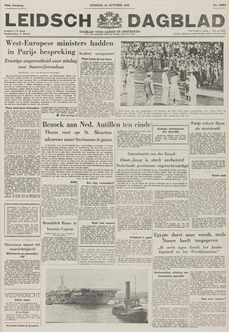 Leidsch Dagblad 1955-10-25