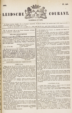 Leydse Courant 1883-06-27