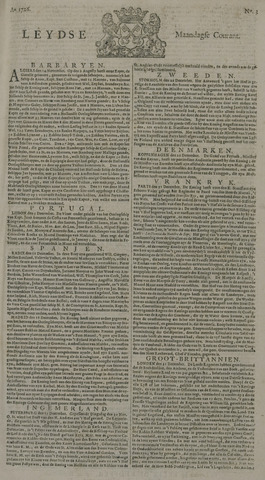 Leydse Courant 1726-01-07