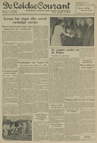 Leidse Courant 1950-06-07