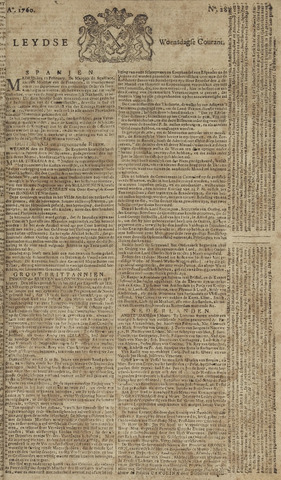 Leydse Courant 1760-03-05