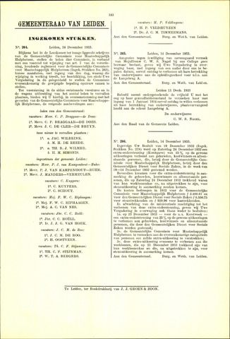 Handelingen van de Raad 1933-12-14