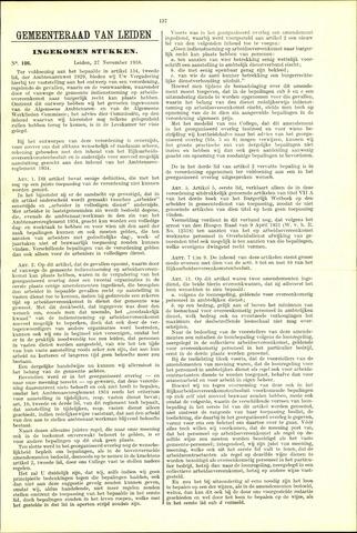 Handelingen van de Raad 1938-11-27