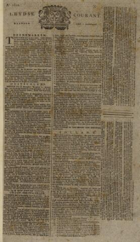 Leydse Courant 1810