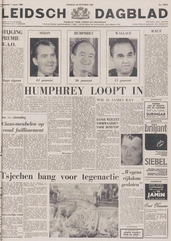 Leidsch Dagblad 1968-10-29