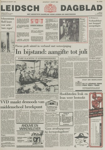 Leidsch Dagblad 1985-03-25