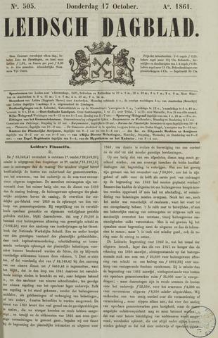 Leidsch Dagblad 1861-10-17