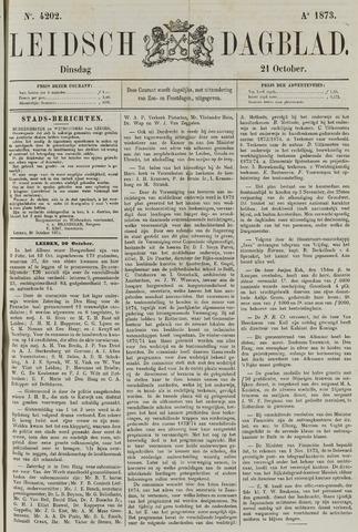 Leidsch Dagblad 1873-10-21