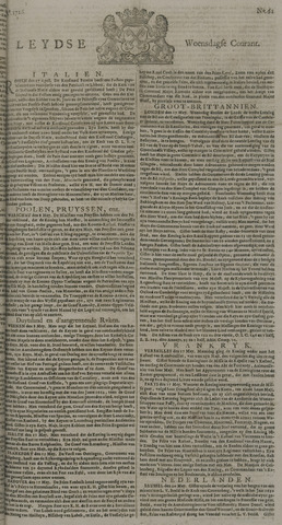 Leydse Courant 1726-05-22
