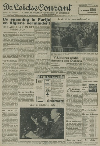 Leidse Courant 1958-05-22