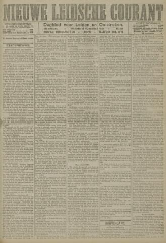 Nieuwe Leidsche Courant 1921-11-18