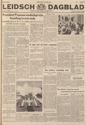 Leidsch Dagblad 1951-04-12