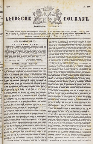 Leydse Courant 1879-08-21