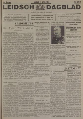 Leidsch Dagblad 1937-04-27