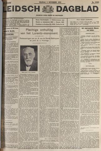 Leidsch Dagblad 1933-11-03