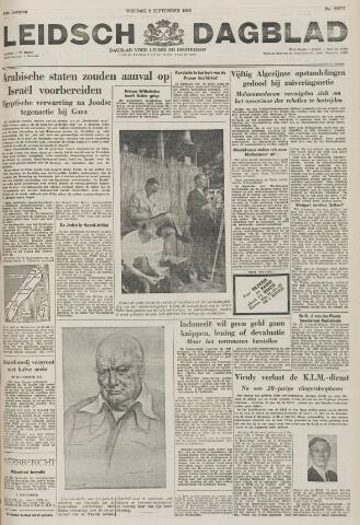 Leidsch Dagblad 1955-09-02