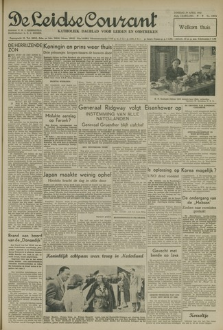 Leidse Courant 1952-04-29