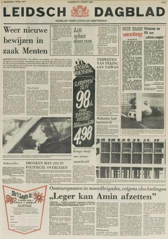Leidsch Dagblad 1977-04-04