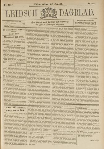 Leidsch Dagblad 1893-04-26
