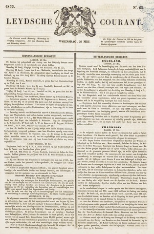 Leydse Courant 1855-05-30