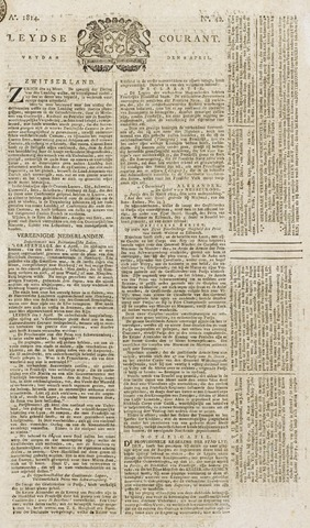 Leydse Courant 1814-04-08