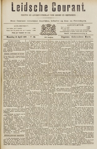 Leydse Courant 1887-04-18