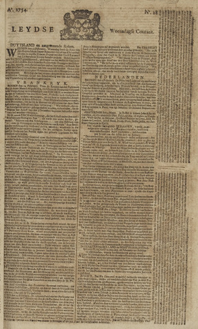 Leydse Courant 1754-03-06