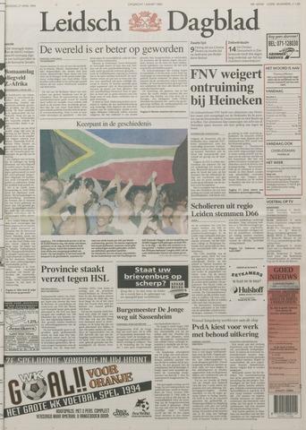 Leidsch Dagblad 1994-04-27