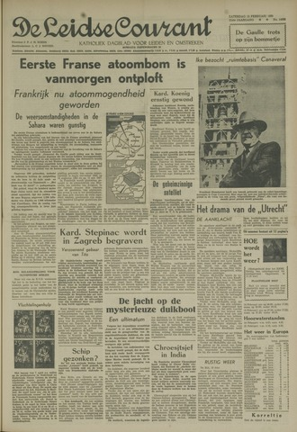 Leidse Courant 1960-02-13
