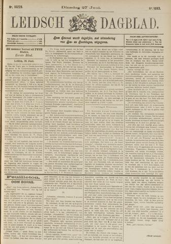Leidsch Dagblad 1893-06-27