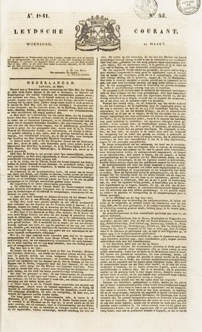 Leydse Courant 1841-03-24