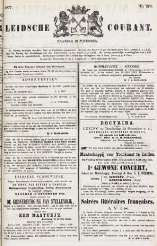 Leydse Courant 1877-11-19
