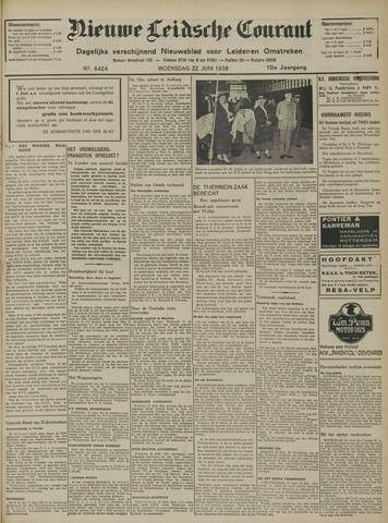 Nieuwe Leidsche Courant 1938-06-22