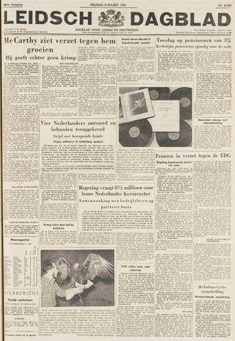 Leidsch Dagblad 1954-03-05