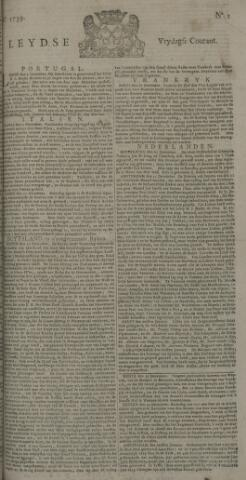Leydse Courant 1739-01-02