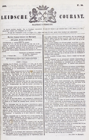 Leydse Courant 1883-02-05