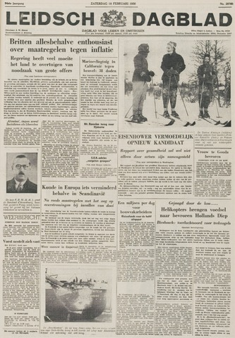 Leidsch Dagblad 1956-02-18