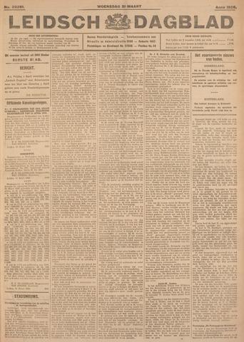 Leidsch Dagblad 1926-03-31