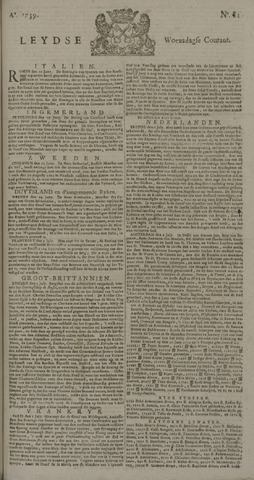 Leydse Courant 1739-07-08
