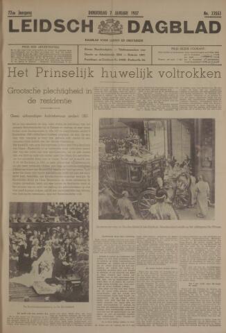 Leidsch Dagblad 1937-01-07