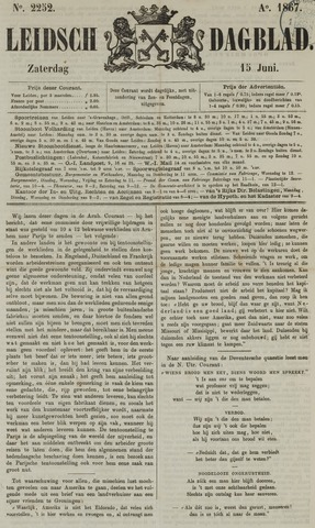 Leidsch Dagblad 1867-06-15