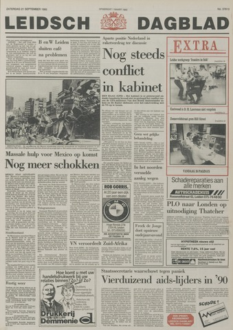 Leidsch Dagblad 1985-09-21