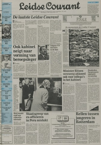 Leidse Courant 1992-11-14