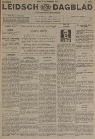 Leidsch Dagblad 1935-12-31