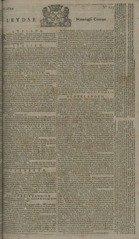 Leydse Courant 1744-12-21