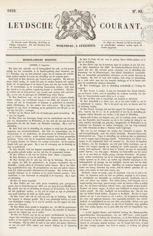 Leydse Courant 1852-08-04
