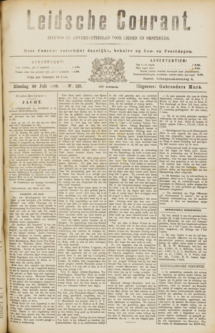 Leydse Courant 1889-07-30